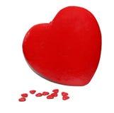 Corações grandes e pequenos Fotografia de Stock