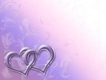 Corações lig Fotos de Stock Royalty Free