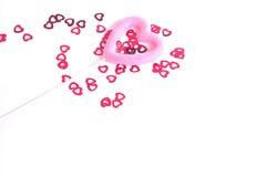 Corações polvilhados Foto de Stock Royalty Free