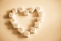 Corações que fazem corações Imagens de Stock Royalty Free