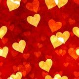 Corações sem emenda Imagens de Stock Royalty Free