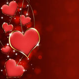Corações valiosos Imagem de Stock Royalty Free