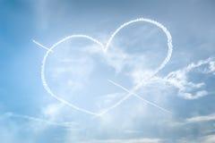 Corações vermelhos Imagens de Stock Royalty Free