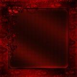 Corações vermelhos da textura do vintage ilustração stock