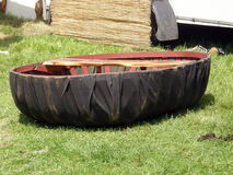 Coracle Royalty Free Stock Photo