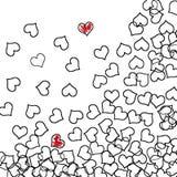 Corações Imagens de Stock