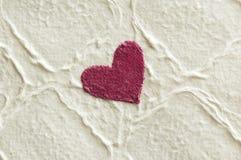 Corações centrados Imagens de Stock Royalty Free