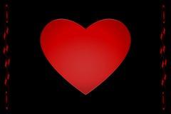 Corações do Valentim Fotografia de Stock