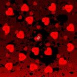 Corações dos doces de Goth Imagem de Stock Royalty Free