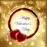 Corações dos Valentim Fotos de Stock Royalty Free