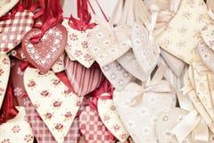 Corações gastos do chik Imagem de Stock Royalty Free