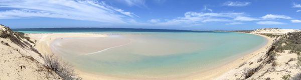 Coral Bay, Austrália Ocidental Fotos de Stock Royalty Free