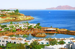 Coral bay coast of Egypt Royalty Free Stock Photo