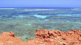 Coral Bay västra Australien Royaltyfri Foto