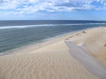 Coral Bay västra Australien Fotografering för Bildbyråer