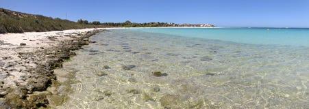 Coral Bay västra Australien Arkivfoton