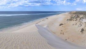 Coral Bay västra Australien Arkivfoto