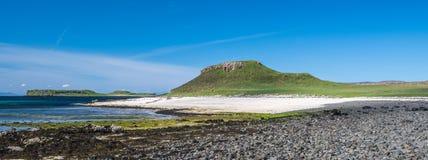 Coral Beach, île de Skye, Ecosse photos stock