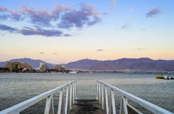 Coral beach in Eilat, Israel Royalty Free Stock Image