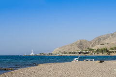 Coral beach of Eilat, Israel Royalty Free Stock Photos