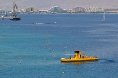 Coral Beach Nature Reserve in Eilat, Israel Stock Image