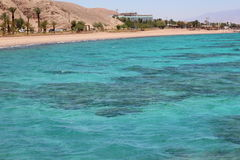 Coral Beach Nature Reserve in Eilat, Israel. Royalty Free Stock Photo