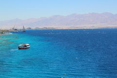 Coral Beach Nature Reserve in Eilat, Israel. Stock Images