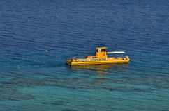 Coral Beach Nature Reserve en Eilat, Israel Fotos de archivo libres de regalías