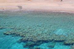 Coral Beach Nature Reserve en Eilat, Israel Foto de archivo