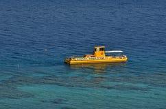 Coral Beach Nature Reserve i Eilat, Israel Royaltyfria Foton