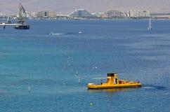 Coral Beach Nature Reserve i Eilat, Israel Fotografering för Bildbyråer