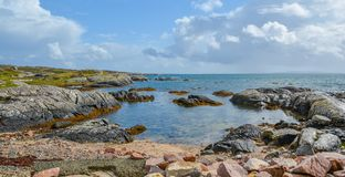 Coral beach near Carraroe, County Galway, Ireland royalty free stock images