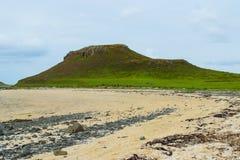 Coral bay rocky shoreline, Scotland Royalty Free Stock Photos