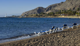 Coral beach near Eilat Stock Photos