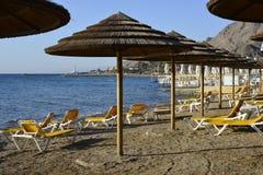 Coral beach near Eilat Stock Image