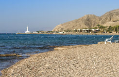 Coral beach near Eilat, Israel Royalty Free Stock Photo