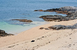 Coral Beach - Tra an Doilin Stock Photography