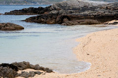 Coral Beach - Tra an Doilin Royalty Free Stock Photos