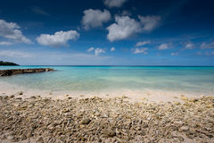 Coral beach Royalty Free Stock Photography