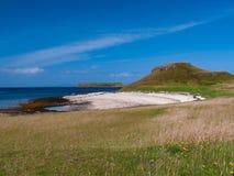 Coral Beaches Isle de Skye, Escócia fotografia de stock royalty free