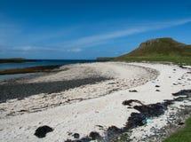 Coral Beaches Isle de Skye, Escócia foto de stock