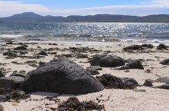 Coral Beaches Isle de Skye Scotland imagens de stock royalty free