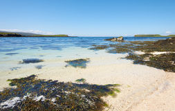 Coral Beaches on the Isle Of Skye Royalty Free Stock Photography