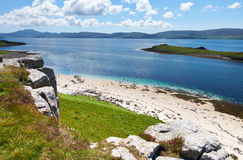 Coral Beaches on the Isle Of Skye Stock Image