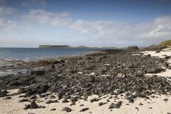 Coral Beaches; Waternish Stock Photo