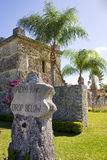 Coral Castle Royalty-vrije Stock Foto