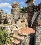 Coral Castle Arkivfoto