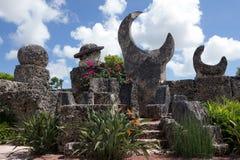 Coral Castle en la Florida Foto de archivo