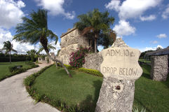 Coral Castle Florida. Entrance to Coral Castle in Florida Royalty Free Stock Images