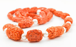 Coral chain Royalty Free Stock Photos